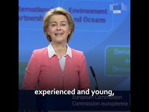 Ursula von der Leyen unveiled the new College of Commissioners
