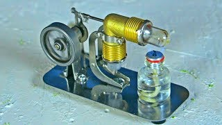 Mini Stirling Engine - Science Toy
