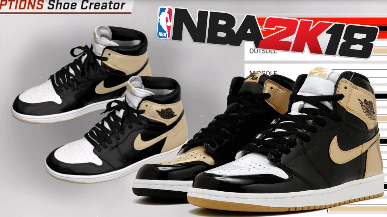 NBA 2K18 Shoe Creator | Air Jordan 1