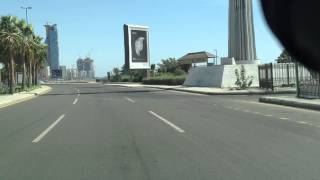 Driving on Jeddah Corniche