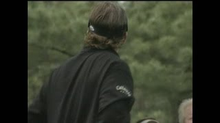 Phil Mickelson Loses His Temper