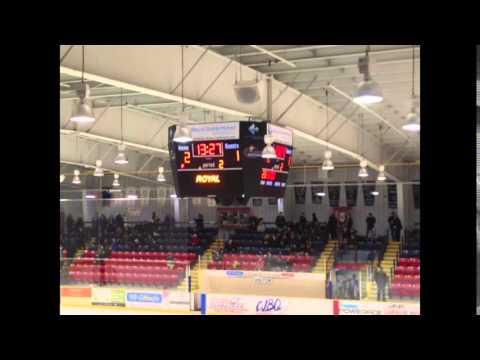 Wellington Dukes vs Trenton Goldenhawks February 20th 2016