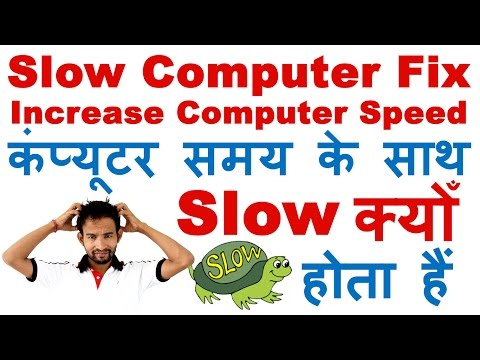 Why My Computer Is Very Slow Over Time | How to Speed up Your Computer 100% Working