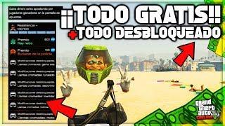 TENER TODO GRATIS Y TODO DESBLOQUEADO EN GTA 5 ONLINE! TIENES QUE VER ESTE VÍDEO! MILLONARIO EN GTAV