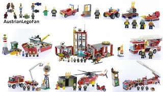 All Lego City Fire Sets 2016 - Lego Speed Build Review