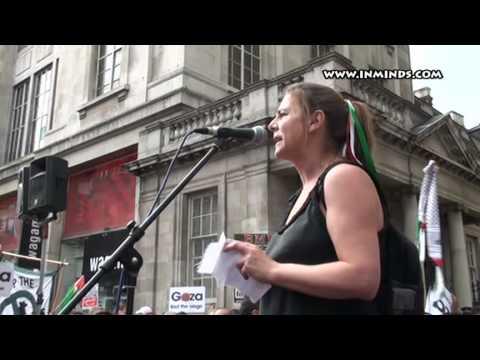 Gaza Freedom Flotilla Massacre: London Rally - Sally Hunt [inminds]