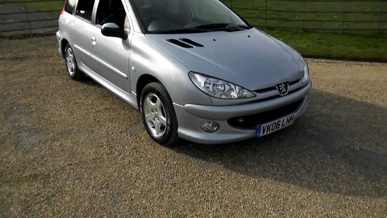 2006 peugeot 206 1 4 hdi sw verve youtube. Black Bedroom Furniture Sets. Home Design Ideas