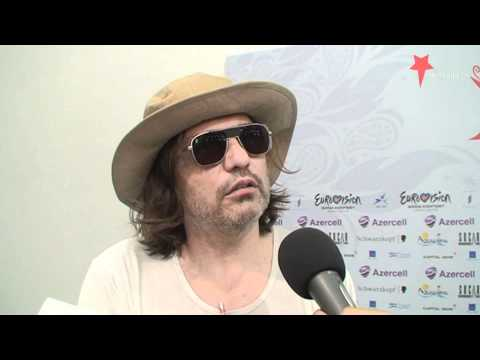 Interview Rambo Amadeus (Eurovision 2012 - Montenegro - Euro Neuro)