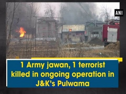 1 Army jawan, 1 terrorist killed in ongoing operation in J&K's Pulwama