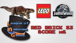 Lego Jurassic World - Red Brick #3