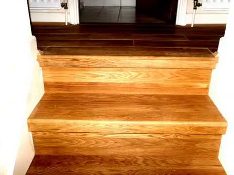 HARDWOOD STAIRS,STAIR RENOVATION,INSTALLING HARDWOOD ON STAIRS