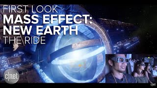 first look inside the mass effect new earth 4d ride