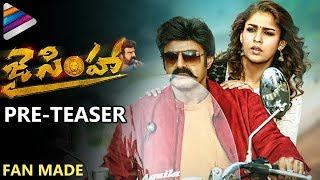 Balakrishna's Jai Simha PRE TEASER | Nayanthara | KS Ravi Kumar | Fan Made | Telugu Filmnagar