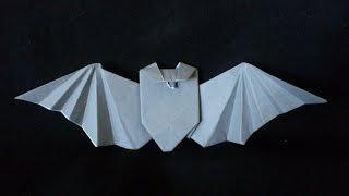 Cara Membuat Origami Kelelawar | Origami Binatang