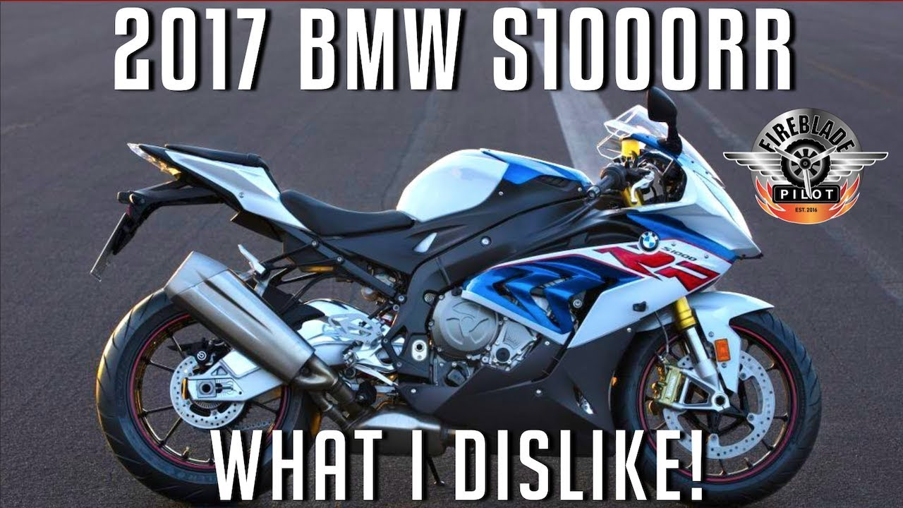 what i dislike about the 2017 bmw s1000rr youtube. Black Bedroom Furniture Sets. Home Design Ideas