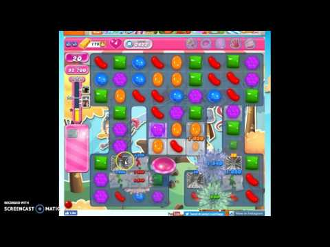 Candy Crush Level 2422 help w/audio tips, hints, tricks