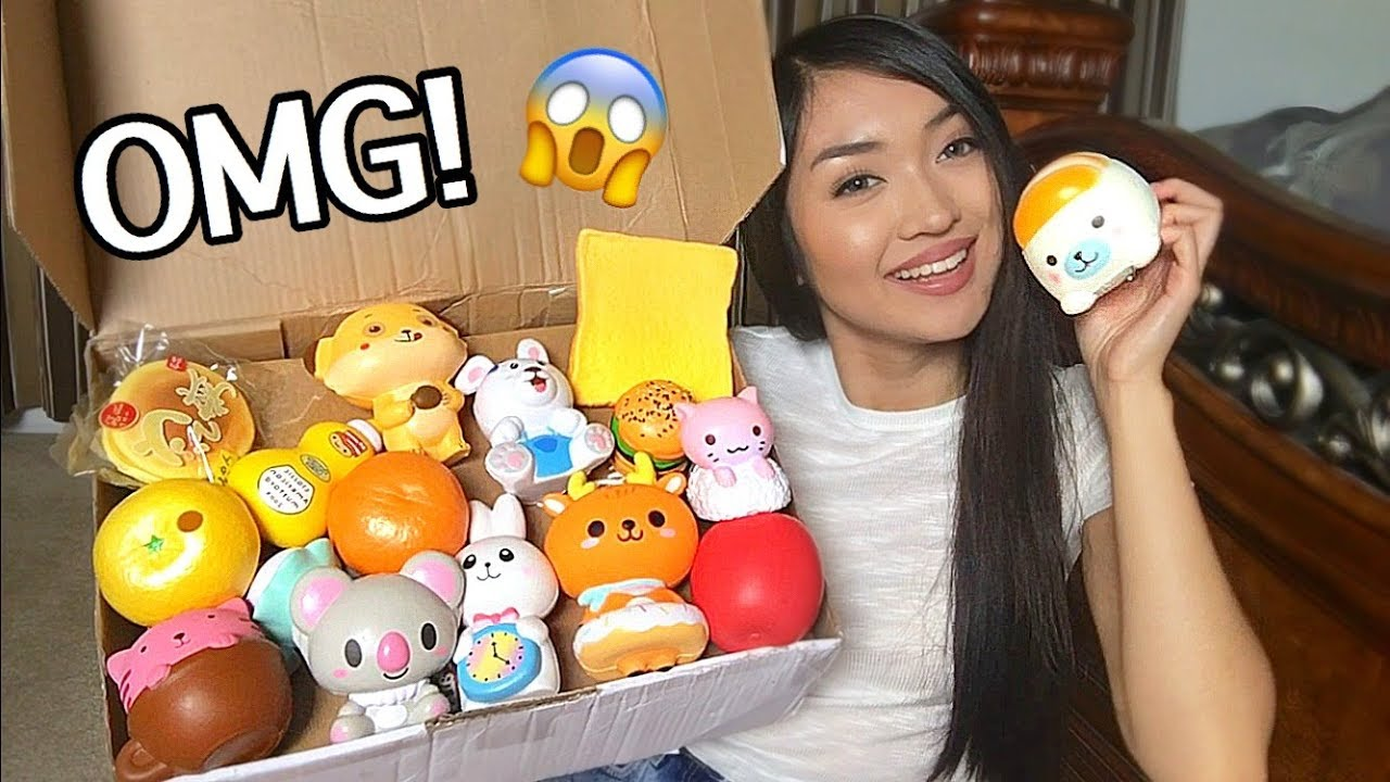 EPIC SQUISHY PACKAGE! - YouTube
