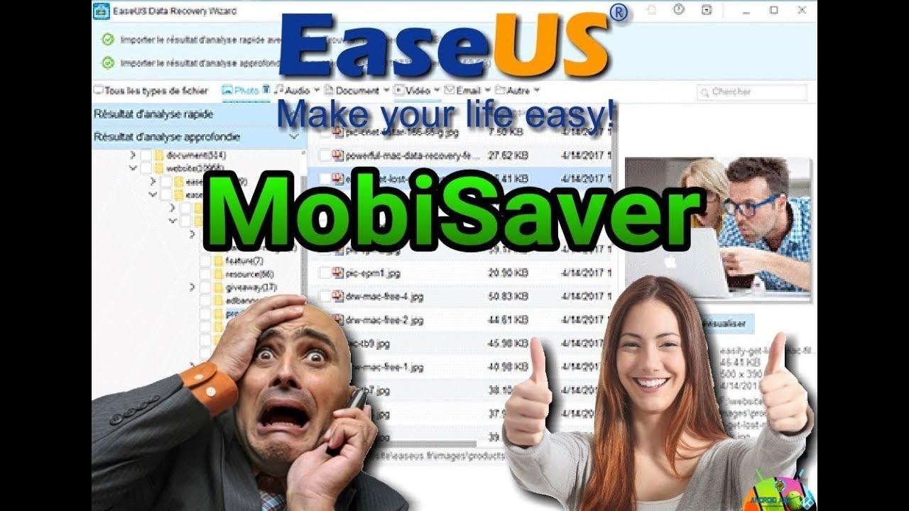 EaseUS MobiSaver: Recuperare i Dati Persi da Android Gratis