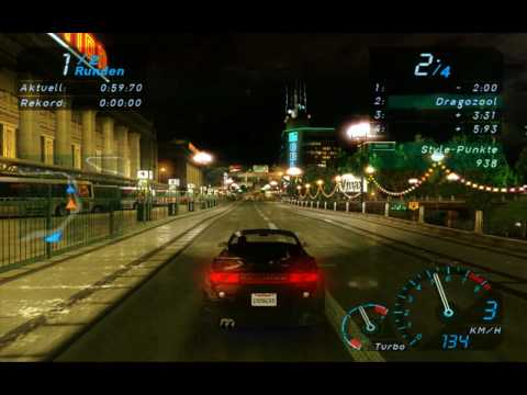 NFS Underground Textures Mod By Dragozool Gameplay