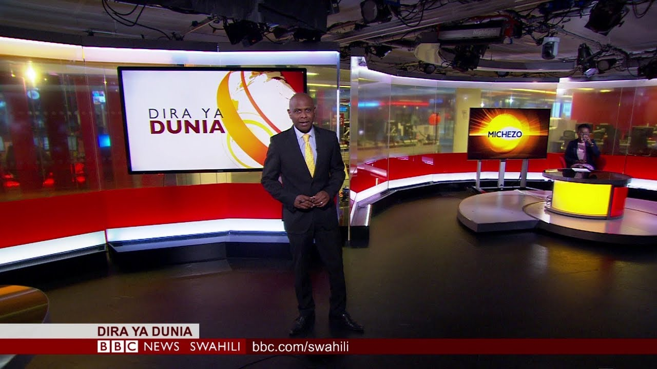 Larry Madowo Reports In Swahili For Bbc And Leaves Kenyans Very