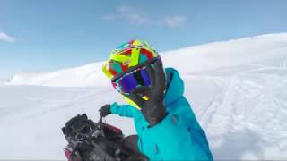 The feeling with a new pair of Raven goggles