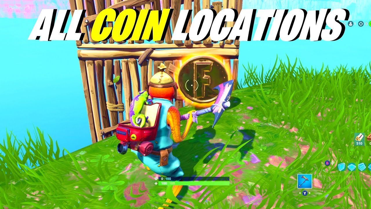 fortnite all coin locations collect coins in featured creative islands overtime challenges - fortnite gold coins creative