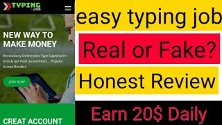 Easy typing job webiste is real or fake,earn 100$ daily by captcha typing,full review of easytyping website,honest review. website link : http://gestyy.c...