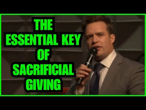 """The Essential Key Of Sacrificial Giving"" – Josh Herring"