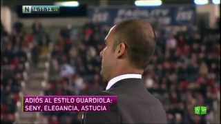 Guardiola deja el FC Barcelona   Guardiola se va del Barça   Adiós de Guardiola - Noticias Youtube