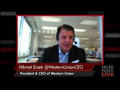Western Union CEO Hikmet Ersek | HPL