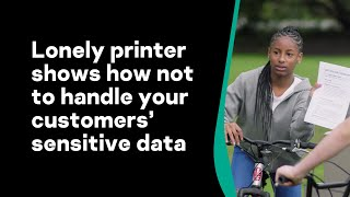 Lonely printer shows how not to handle your customers' sensitive data