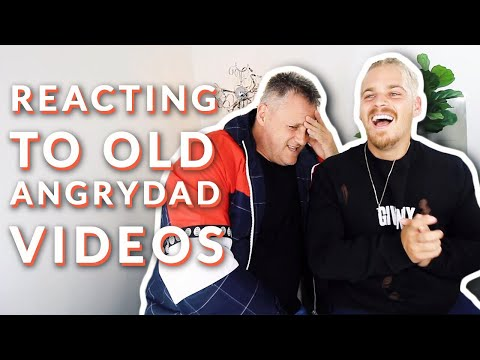 REACTING TO ANGRYDAD VIDEOS WITH ANGRYDAD