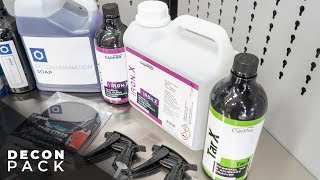 Obsessed Garage Decontamination Package