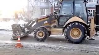 видео Убрать снег, наледь в Санкт-Петербурге, вывоз снега