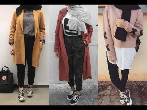 c6a2449f9b23f تنسيق ملابس محجبات للخريف 2019 - Autumn Hijab Lookbook - YouTube