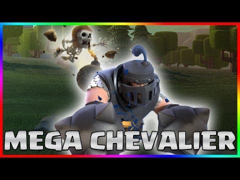 Clash Royale Gagner Defi Du Méga Chevalier Meilleur Deck Mega