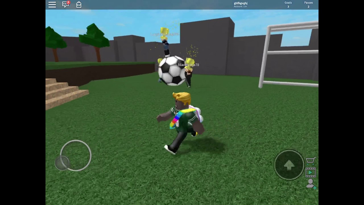 in roblox game how do i kick lucys football Kick Off And I Got Really Better So Crazy Video 37 Youtube