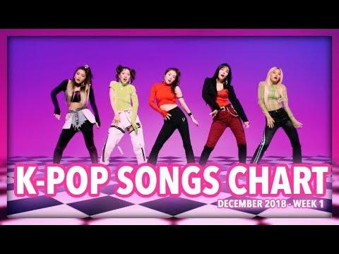 K-POP SONGS CHART   DECEMBER 2018 (WEEK 1)