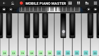 Shaktimaan Tune Piano Tutorial|Piano Keyboard|Piano Lessons|Piano Music|learn piano Online|Mobile