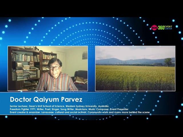 Behind The Scenes, Guest - Dr. Qaiyum Parvez