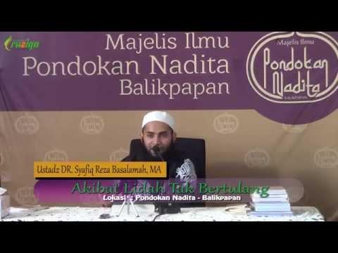Ust. Syafiq Reza Basalamah - Akibat Lidah Tak Bertulang