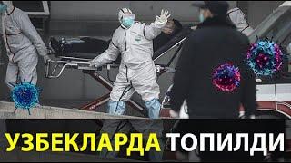 КОРОНА ВИРУС -УЗБЕКЛАРДА АНИКЛАНДИ