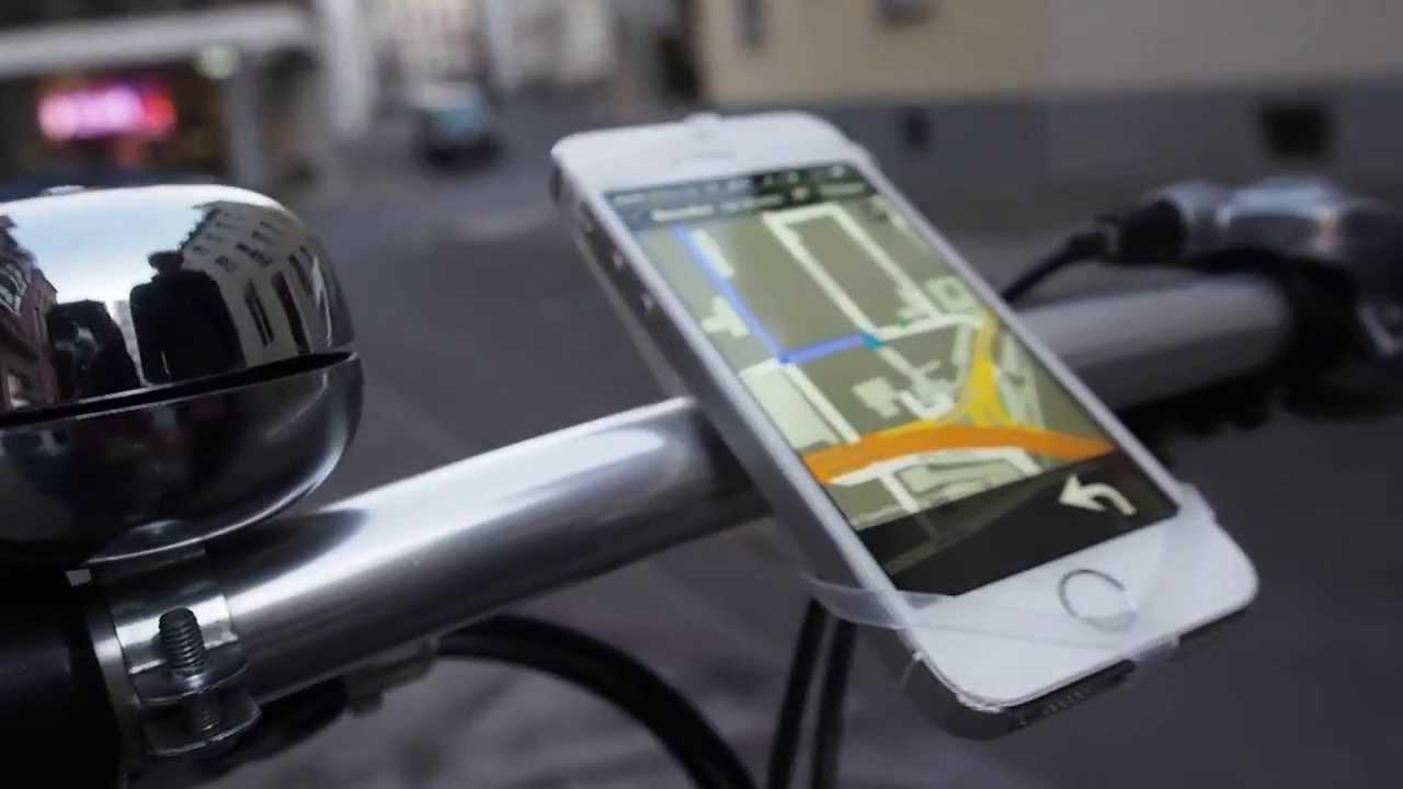 Finn Smartphone-Halterung Anprobe