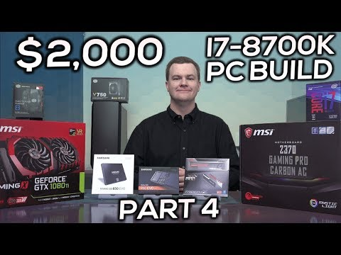 i7-8700K Gaming PC - Part 4 - Why VLog - Graphics Card / Case / PSU