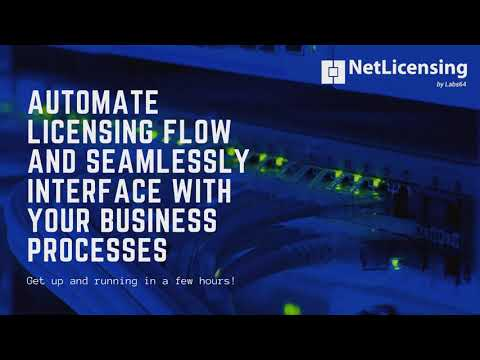 Automate your processes using NetLicening RESTful API