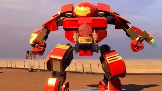 LEGO HULKBUSTER KAPTAN AMERİKA VE IRONMANE KARŞI 10. BÖLÜM