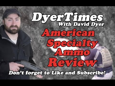 American Specialty Ammo 12 Gauge Review