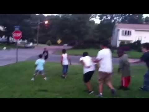 Brentwood NY goon squad fight 2012 - YouTube