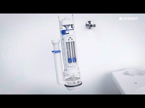 Geberit Type 290 Flushing Valve Installation Youtube