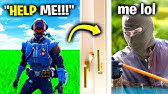I Pretended To Be A ROBBER In Real Life.. (Fortnite)